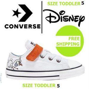 Converse Disney Frozen Olaf Uni Toddler Shoes Sz 5
